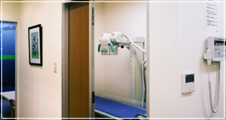 検査室・X線撮影室